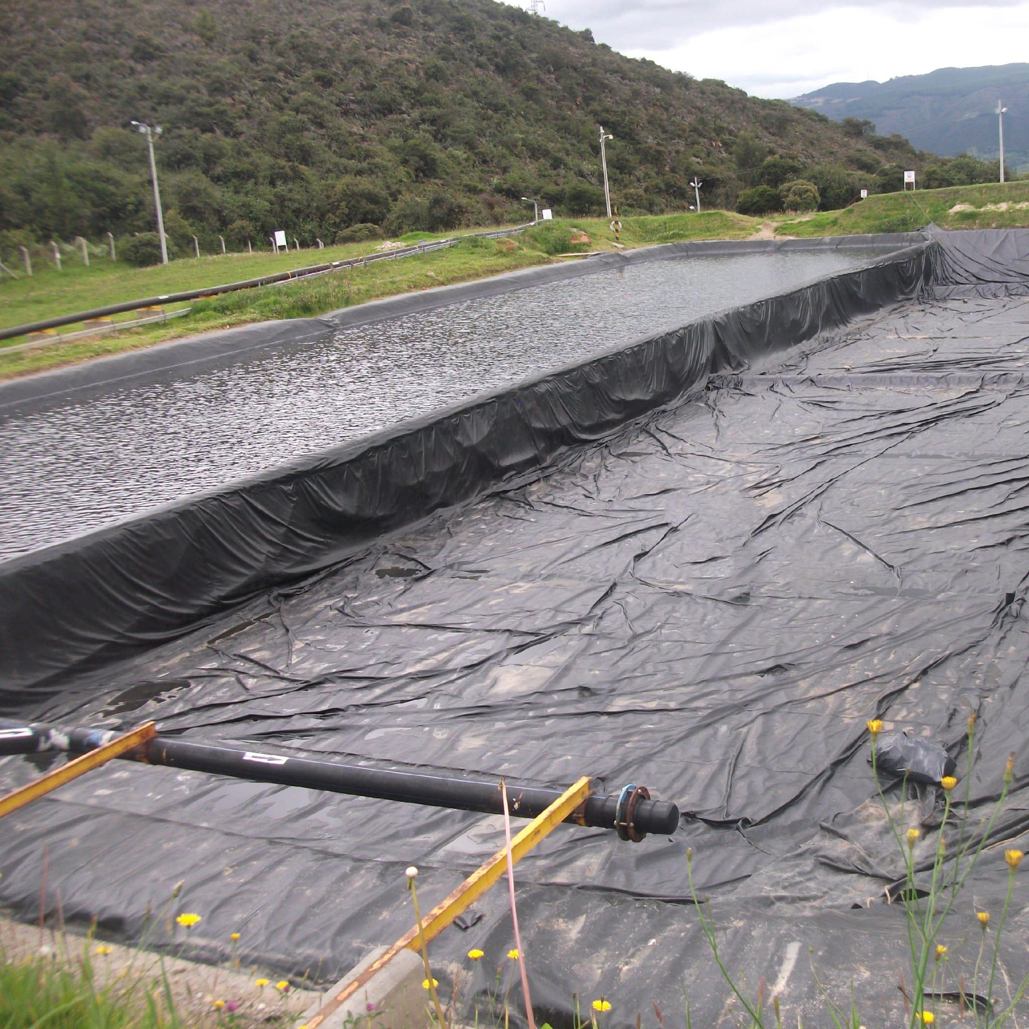 Línea agroindustrial impermeabilización de suelos carpas ikl